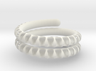 Fossil Coil heavy in White Strong & Flexible