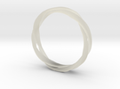 5-Twist Ring in Transparent Acrylic