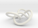 Prime Knot 4.1 in White Strong & Flexible
