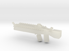 Alien Machine Gun in Transparent Acrylic