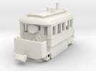 1001-3 Early Baldwin Steam Tram (Type B) 1:148 in White Strong & Flexible