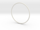 Slim simplicity bangle in White Strong & Flexible
