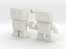 Robot Snap Mini Kit Model in White Strong & Flexible