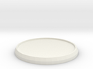 Round Model Base 35mm in White Strong & Flexible