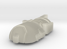 Leadfoot Head for Classics Mirage body in Transparent Acrylic
