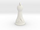 Spartan King for Spartan Chess&#153  in White Strong & Flexible