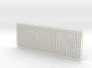 Euro 4 in 1 chain maille - 10x4cm* in White Strong & Flexible