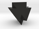 A Peculiar Polyhedron in Black Strong & Flexible