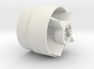 L-39 Micro Jet fan assembly in White Strong & Flexible