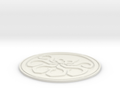 Hydra Badge in White Strong & Flexible