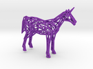 Unicorn Low Poly in Purple Strong & Flexible Polished