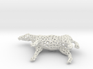 Horse Voronoi in White Strong & Flexible