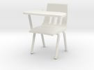 1:24 Classchair Right Hand in White Strong & Flexible