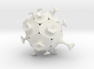 Afarley - Echinoid 1 in White Strong & Flexible
