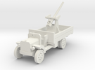 1/144th 3 inch A.A. Mk .1 on Peerless Lorry in White Strong & Flexible