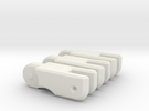 MP Seeker spare fingers in White Strong & Flexible