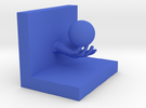 Bookend in Blue Strong & Flexible Polished