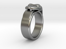New Size 12.5 Ring (inner diameter is 22.1 mm) in Raw Silver