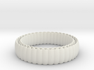 Armadillo Bracelet in White Strong & Flexible