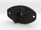 FE sef A3 grip motor plate (for m3 set screw and h in Black Strong & Flexible