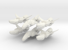 Scout Ship Proto (original size) 6-pack in White Strong & Flexible