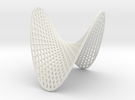 Doubly Ruled Hyperbolic Paraboloid  in White Strong & Flexible