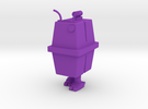 1/48 O Scale Box Robot 2 in Purple Strong & Flexible Polished