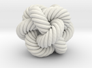 Rope Bead (M) in White Strong & Flexible