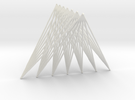 Tetrahedron = Join of Two Segments (10cm, 7bars@2m in White Strong & Flexible