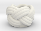 Turks Head in White Strong & Flexible