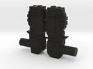 Tempest Dual Blasters in Black Strong & Flexible