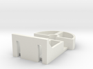 Replacement mount for IKEA Tupplur blinds  in White Strong & Flexible