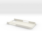 iPhone5 Protective Case in White Strong & Flexible