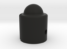 Dome Head Control Knob for electric guitars and ba in Black Strong & Flexible