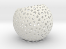 Non bowl sphere in White Strong & Flexible