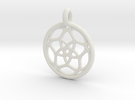 Himalia pendant in White Strong & Flexible