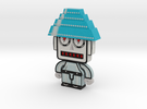 DevoBot Series 1 Silver Suit 2012 and Blue Energy  in Full Color Sandstone