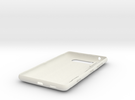 Nokia Lumia 820 shell with all parts in White Strong & Flexible