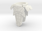 Allied7 Armor in White Strong & Flexible