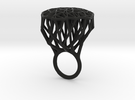 Ring Tree V4 18mm in Black Strong & Flexible