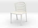 "Lowenstein Chair 3.8"" tall in White Strong & Flexible"