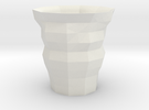 Polygon Cup in White Strong & Flexible
