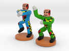 Gangnam Style Dummy Dancers Mashup in Full Color Sandstone