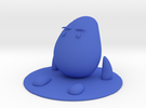 Drup Sitting S in Blue Strong & Flexible Polished