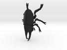 Rhino Beetle small in Black Strong & Flexible