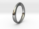 Moebius Love Ring in Premium Silver