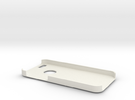 iPhone 5 Case: Pyramid Design in White Strong & Flexible