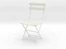 """Bryant Park Bistro Chair 3.7"""" tall in White Strong & Flexible"""