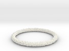 Perlin Bracelet (Large) in White Strong & Flexible