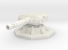 Gauss Turret 6mm in White Strong & Flexible